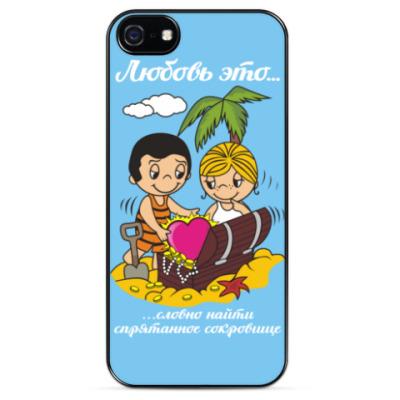 Чехол для iPhone Love is... Любовь это...