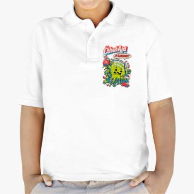 Детская рубашка поло Ктулху Cthul-Aid