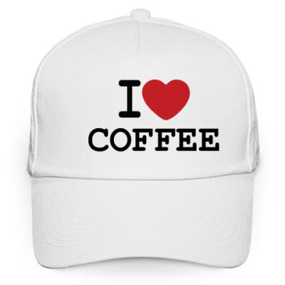 Кепка бейсболка I Love Coffee
