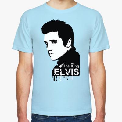 Футболка  'Elvis the king'