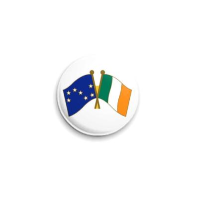 Значок 25мм  'Irish citizen army'