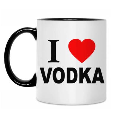 Кружка i love vodka