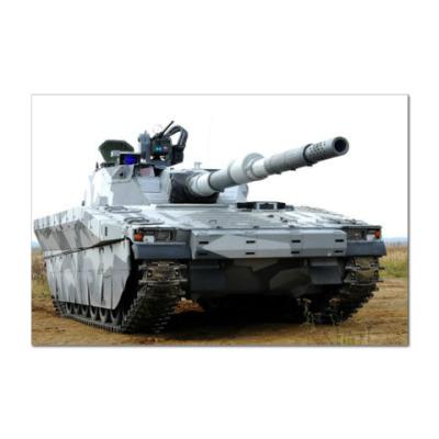 Наклейка (стикер) Шведский танк-невидимка