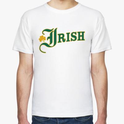 Футболка  футболка  Irish