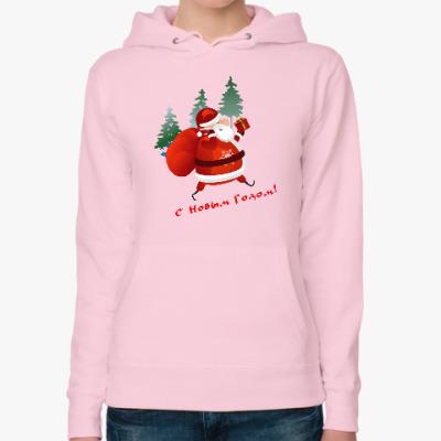 Женская толстовка худи Дед Moroz