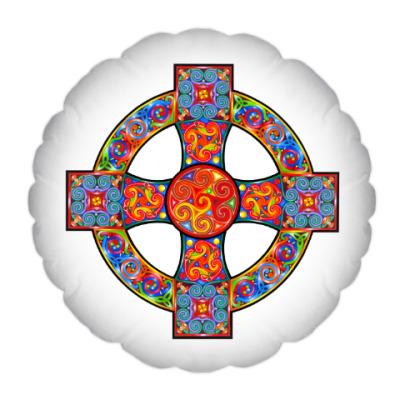 Подушка Кельтский крест