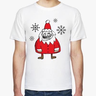 Футболка Trollface Santa