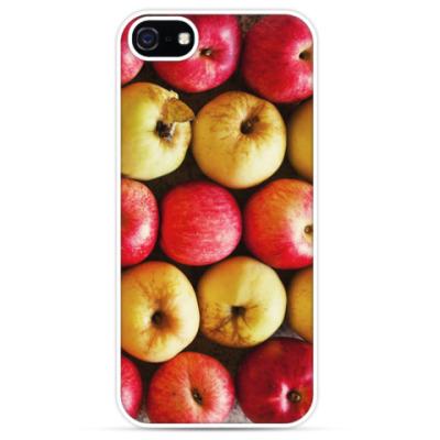 Чехол для iPhone Яблочки / Apples
