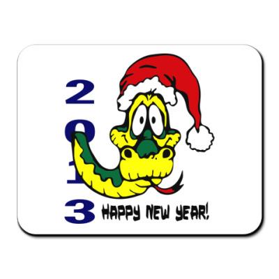 Коврик для мыши Happy new year 2013
