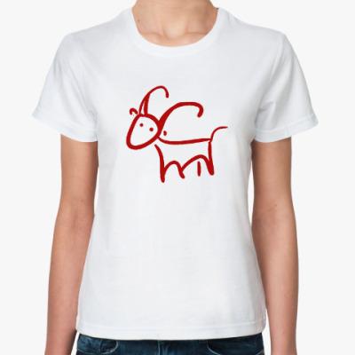 Классическая футболка Козюлька