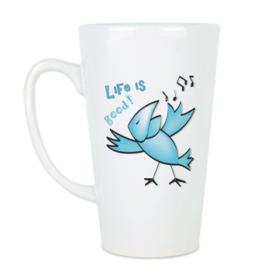 Чашка Латте Жизнь хороша!