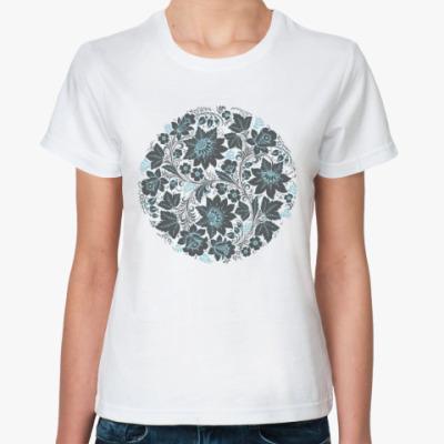 Классическая футболка Хохлома