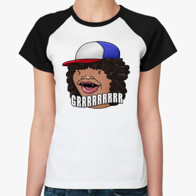 Женская футболка реглан Cтранные дела(Stranger Things)