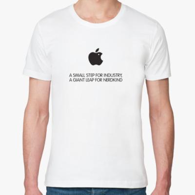 Футболка из органик-хлопка Apple: giant leap for nerdkind