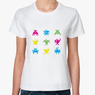 Классическая футболка  Человечки