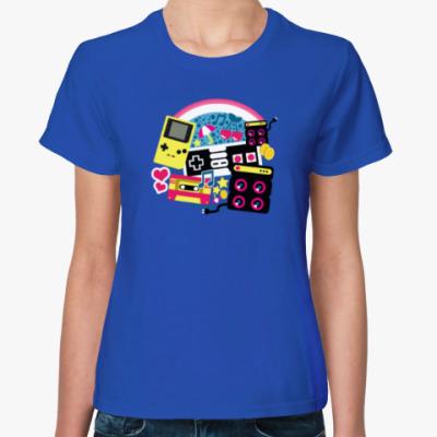Женская футболка Привет из 90-х