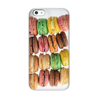 Чехол для iPhone 5c macarons
