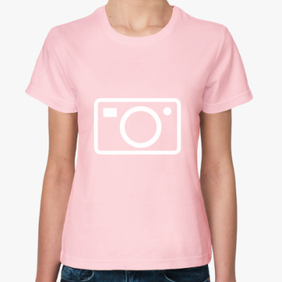 Женская футболка Снимаю