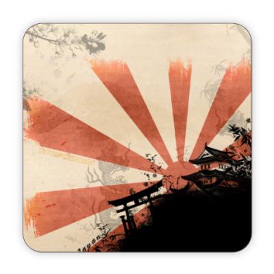 Костер (подставка под кружку) Япония