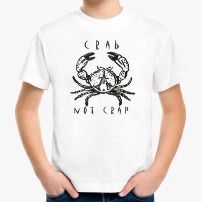 Детская футболка Краб