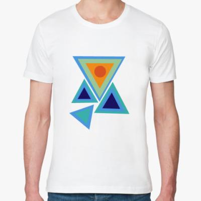 Футболка из органик-хлопка Треугольники