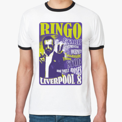 Футболка Ringer-T Ringo 60s