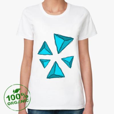 Женская футболка из органик-хлопка Пирамиды