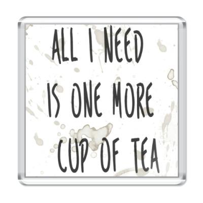 Магнит Чашка чая