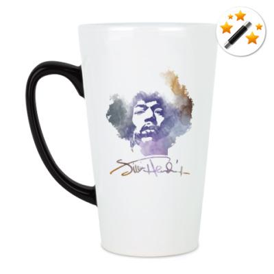 Кружка-хамелеон  Jimi Hendrix - Джими Хендрикс