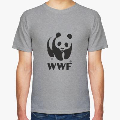 Футболка WWF. Панда с лого