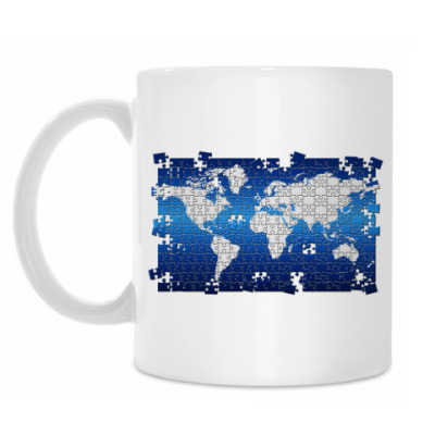 Кружка 'World Puzzle'