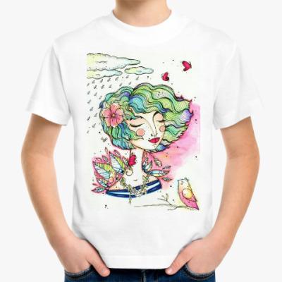 Детская футболка Весна