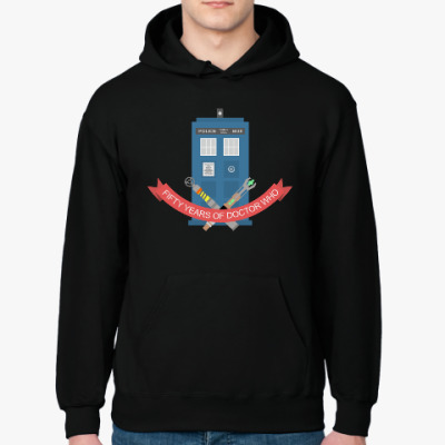 Толстовка худи TARDIS