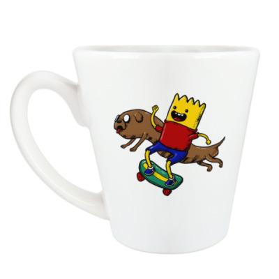Чашка Латте Время приключений