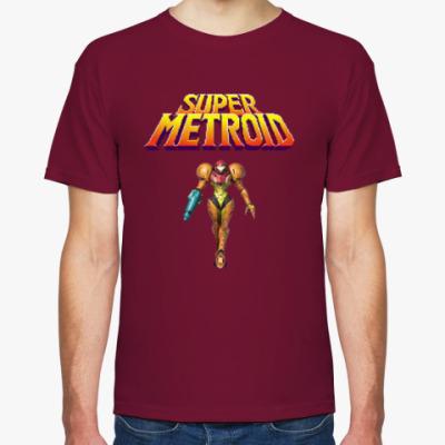 Футболка Super Metroid