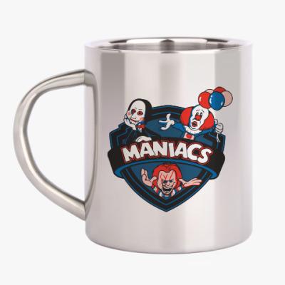 Кружка металлическая Maniacs