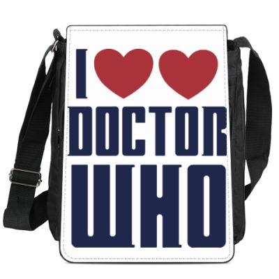 Сумка-планшет Доктор Кто(Doctor Who)