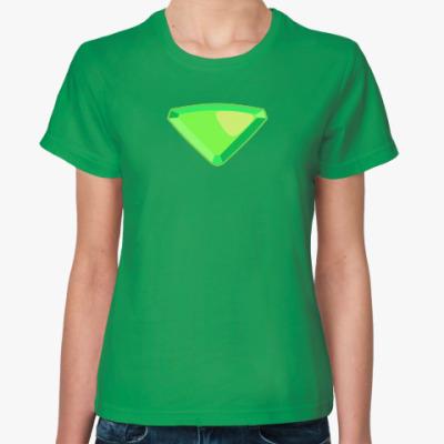 Женская футболка Steven Universe / Вселенная Стивена - Peridot