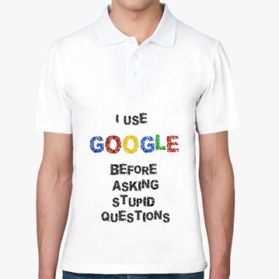 Рубашка поло I use Google