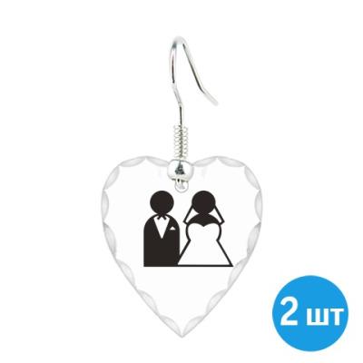 Серьги Just Married
