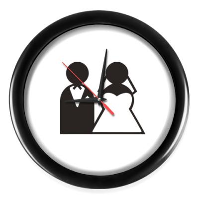 Настенные часы Just Married