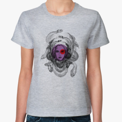 Женская футболка Горгона