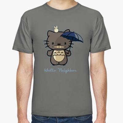 Футболка Hello Totoro