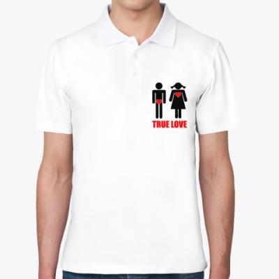 Рубашка поло True Love