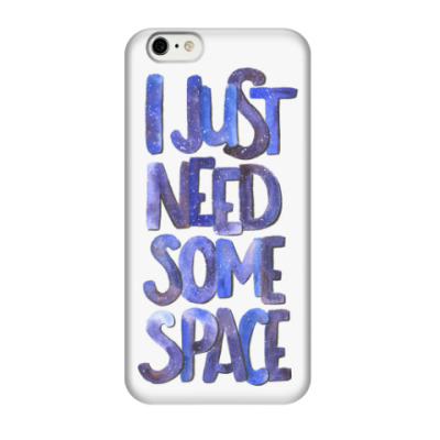 Чехол для iPhone 6/6s I just need some space