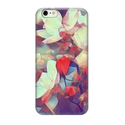 Чехол для iPhone 6/6s Абстрактные цветы
