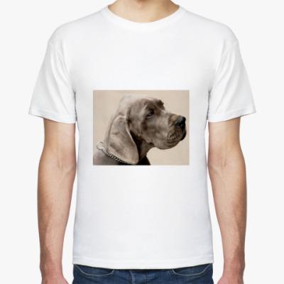 Футболка Грустный пес