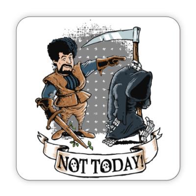 Костер (подставка под кружку) Смерть - не сегодня
