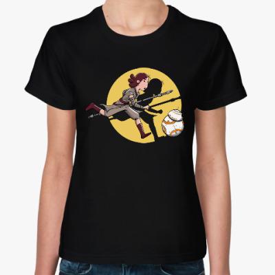 Женская футболка Рей (Звёздные войны)