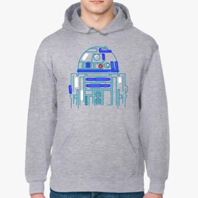 Толстовка худи Star Wars. R2D2